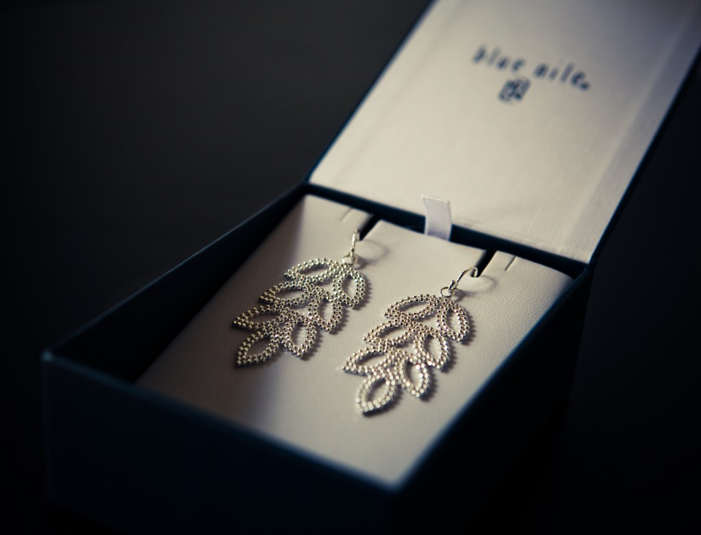 blue nile earrings